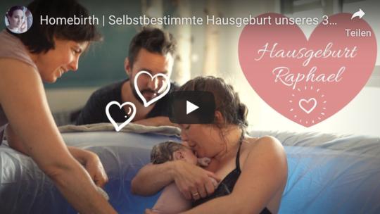Homebirth / Hausgeburtsvideo von  Kathi ́s Daily Life